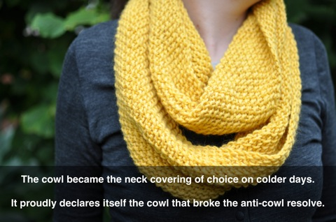 Cowl caption